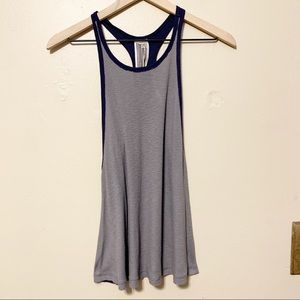 Free People We The Free Colorblock Ribbed Tank